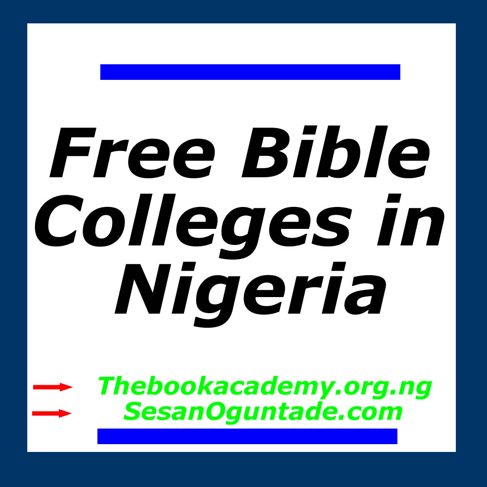 free bible colleges in nigeria